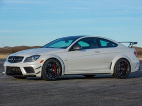 Ver foto 7 de Mercedes Clase C Coupe AMG C63 Black Series USA 2012
