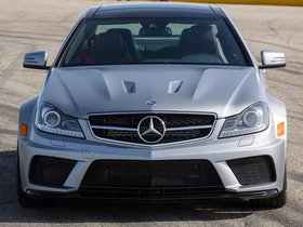 Ver foto 3 de Mercedes Clase C Coupe AMG C63 Black Series USA 2012