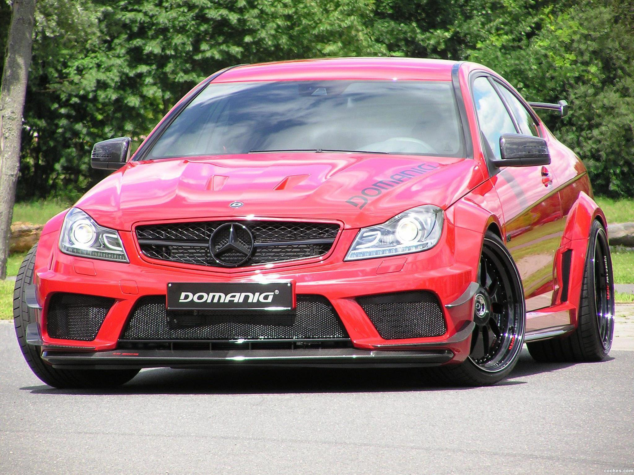 Foto 0 de Mercedes Clase C C63 AMG Black Series by Domanig 2012