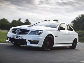 Ver foto 4 de Mercedes Clase C AMG C63 Coupe Edition 507 C204 UK 2013