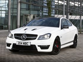 Ver foto 3 de Mercedes Clase C AMG C63 Coupe Edition 507 C204 UK 2013