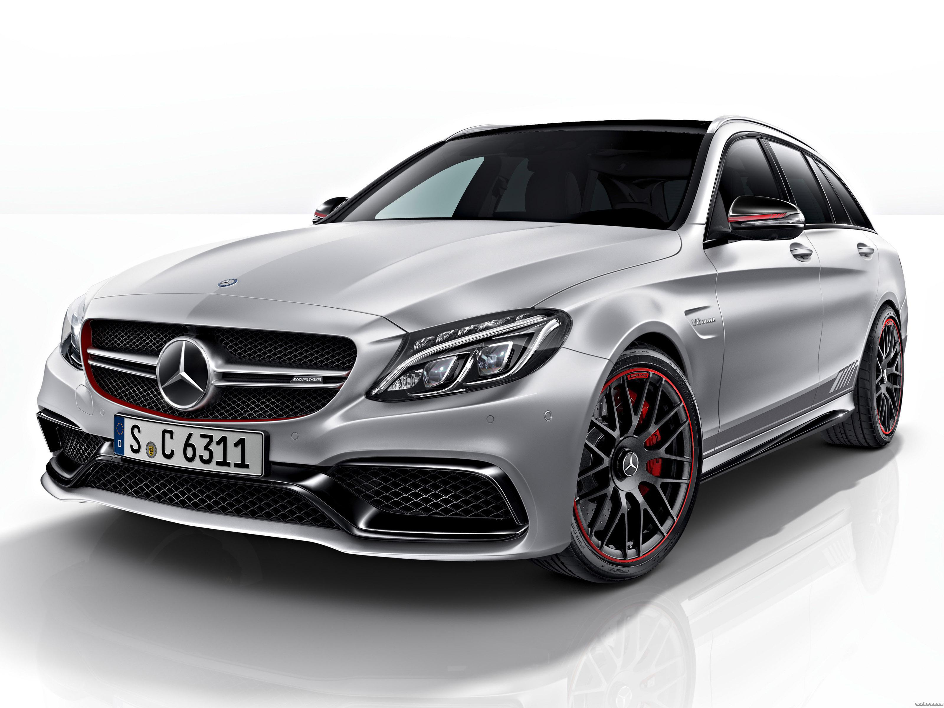 Foto 0 de Mercedes AMG C63 S Estate Edition 1 S205 2015