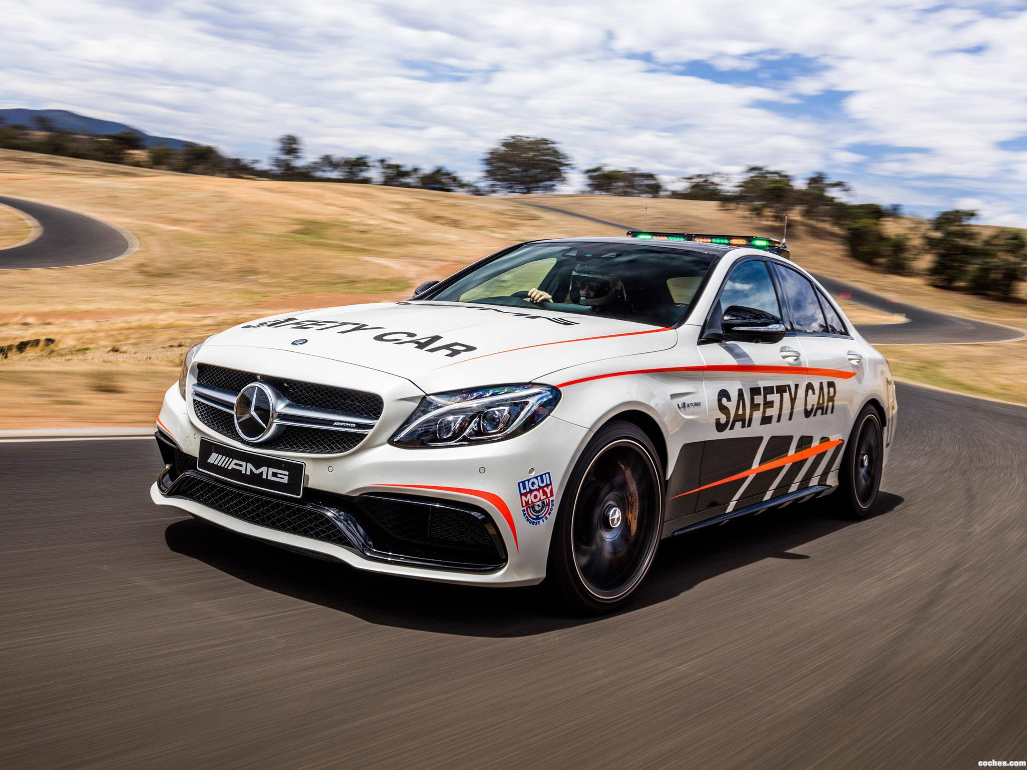 Foto 5 de Mercedes AMG C63 S Safety Car W205 2016