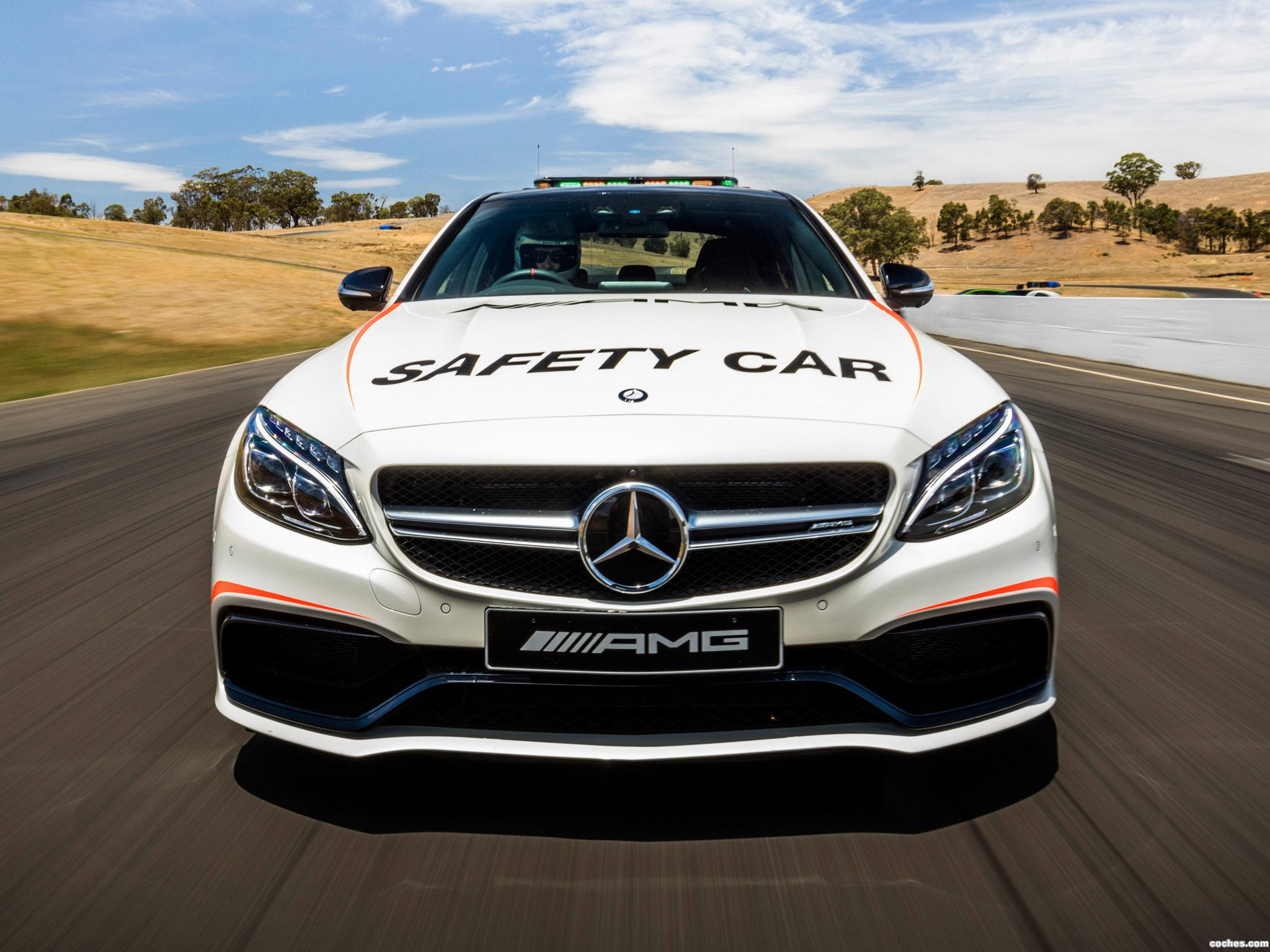 Foto 4 de Mercedes AMG C63 S Safety Car W205 2016