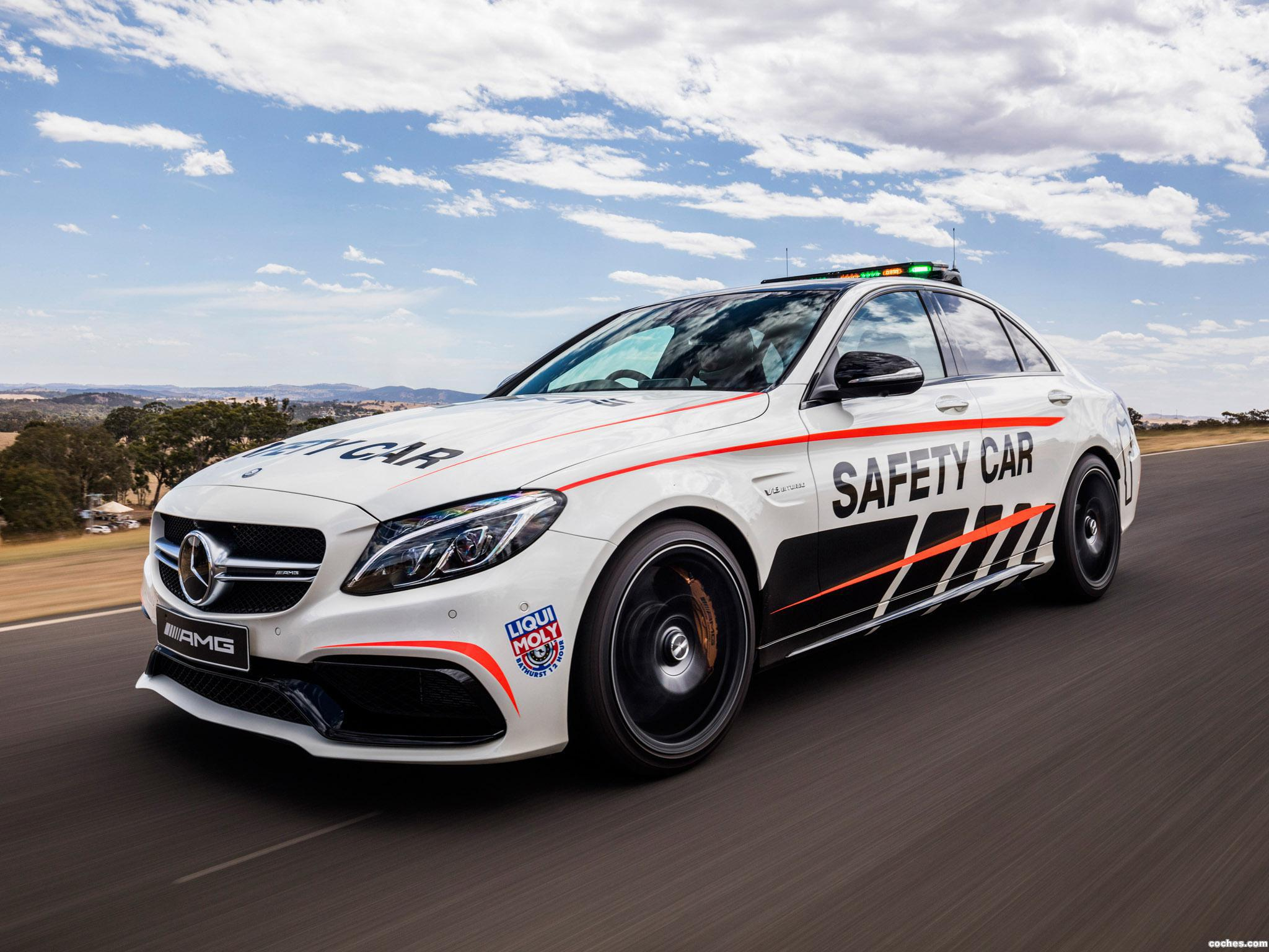 Foto 3 de Mercedes AMG C63 S Safety Car W205 2016