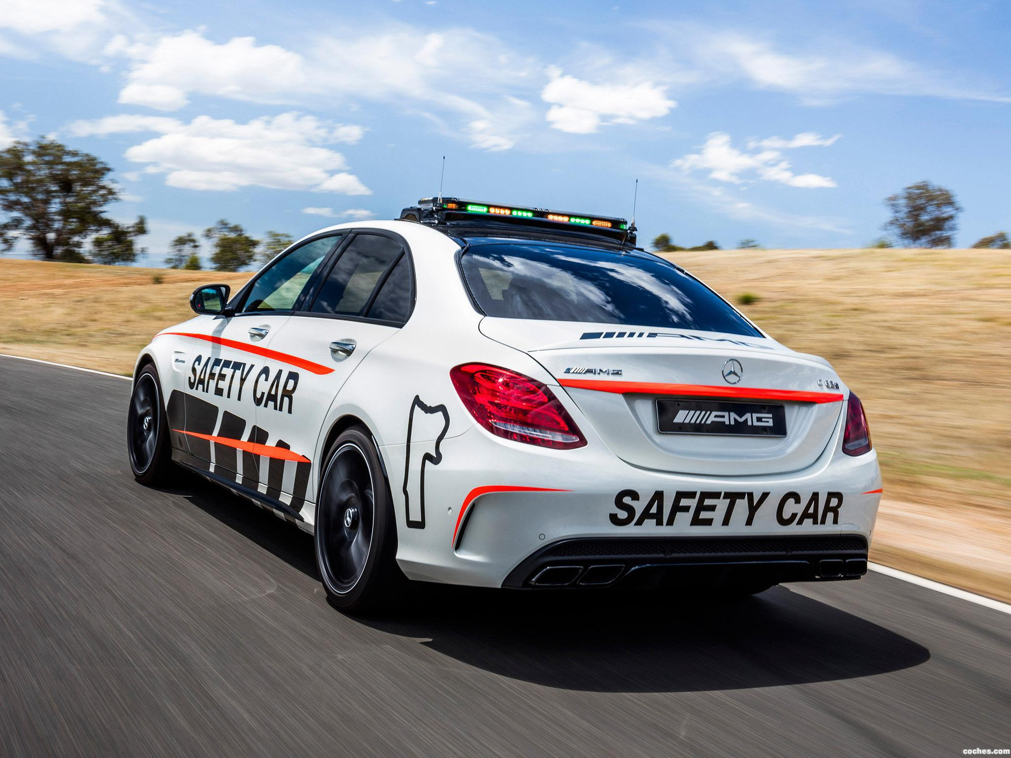 Foto 1 de Mercedes AMG C63 S Safety Car W205 2016