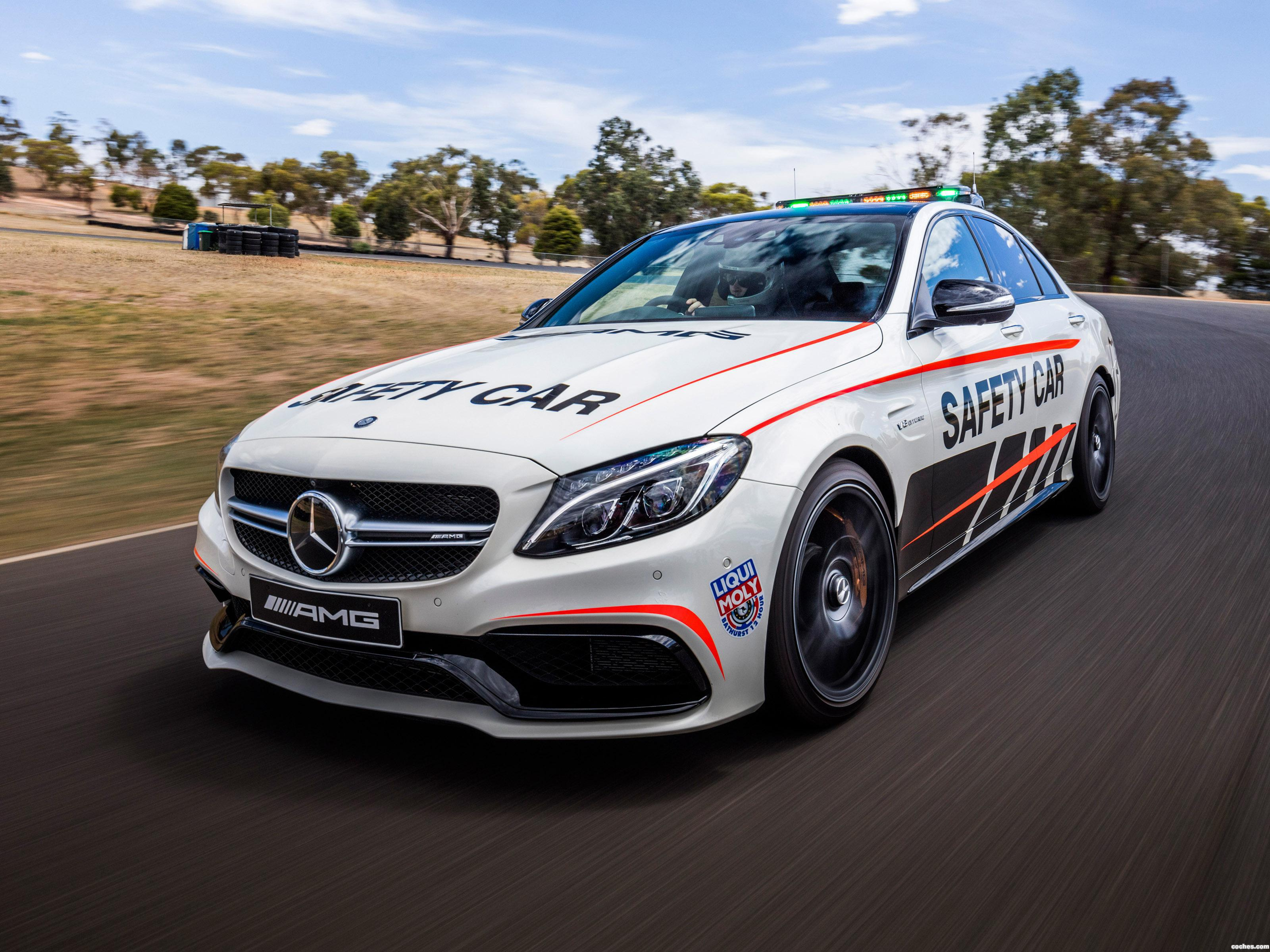 Foto 0 de Mercedes AMG C63 S Safety Car W205 2016
