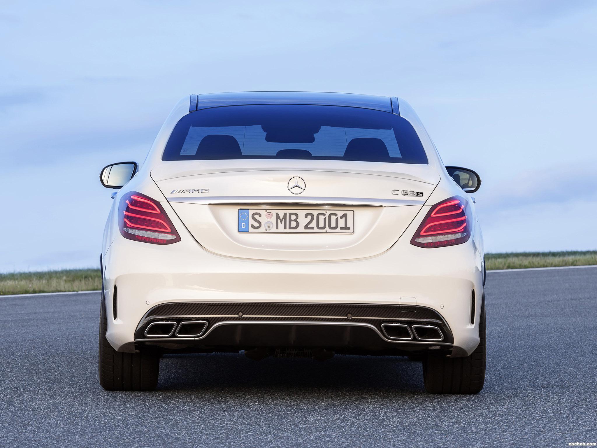 Foto 6 de Mercedes AMG C63 S W205 2014