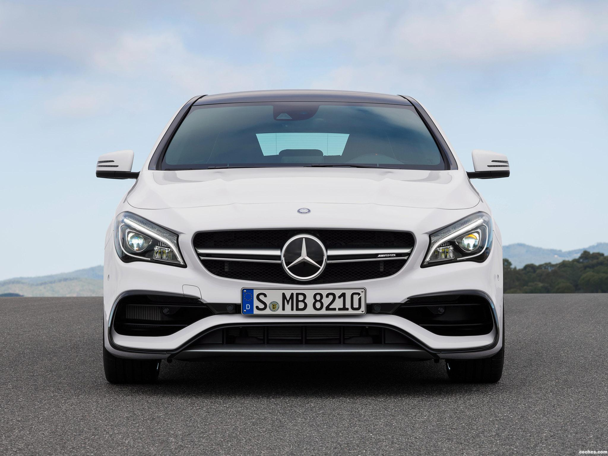 Foto 2 de Mercedes AMG CLA 45 4MATIC Shooting Brake X117 2016