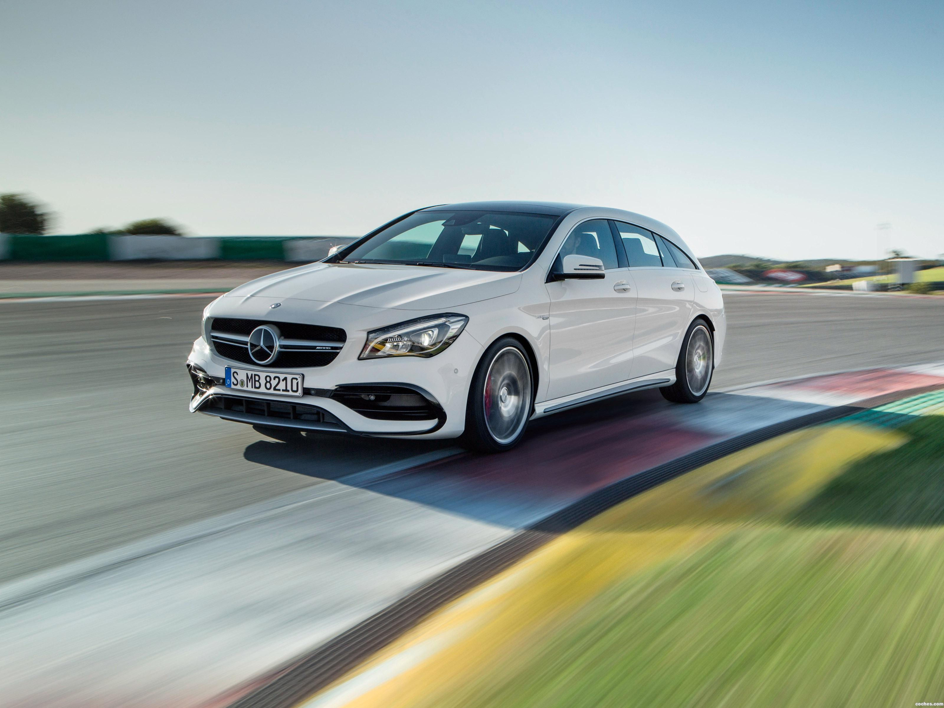 Foto 0 de Mercedes AMG CLA 45 4MATIC Shooting Brake X117 2016