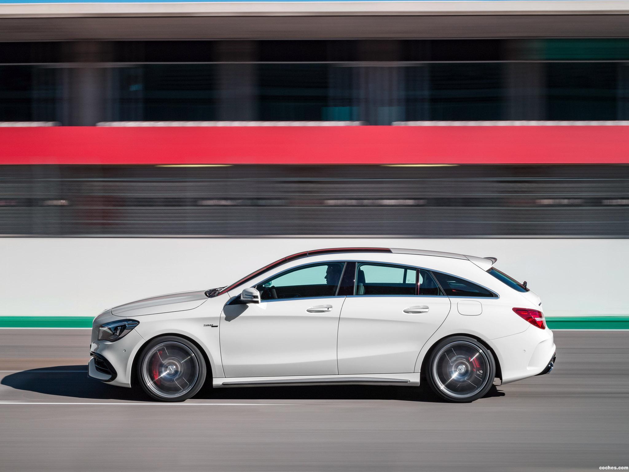 Foto 5 de Mercedes AMG CLA 45 4MATIC Shooting Brake X117 2016