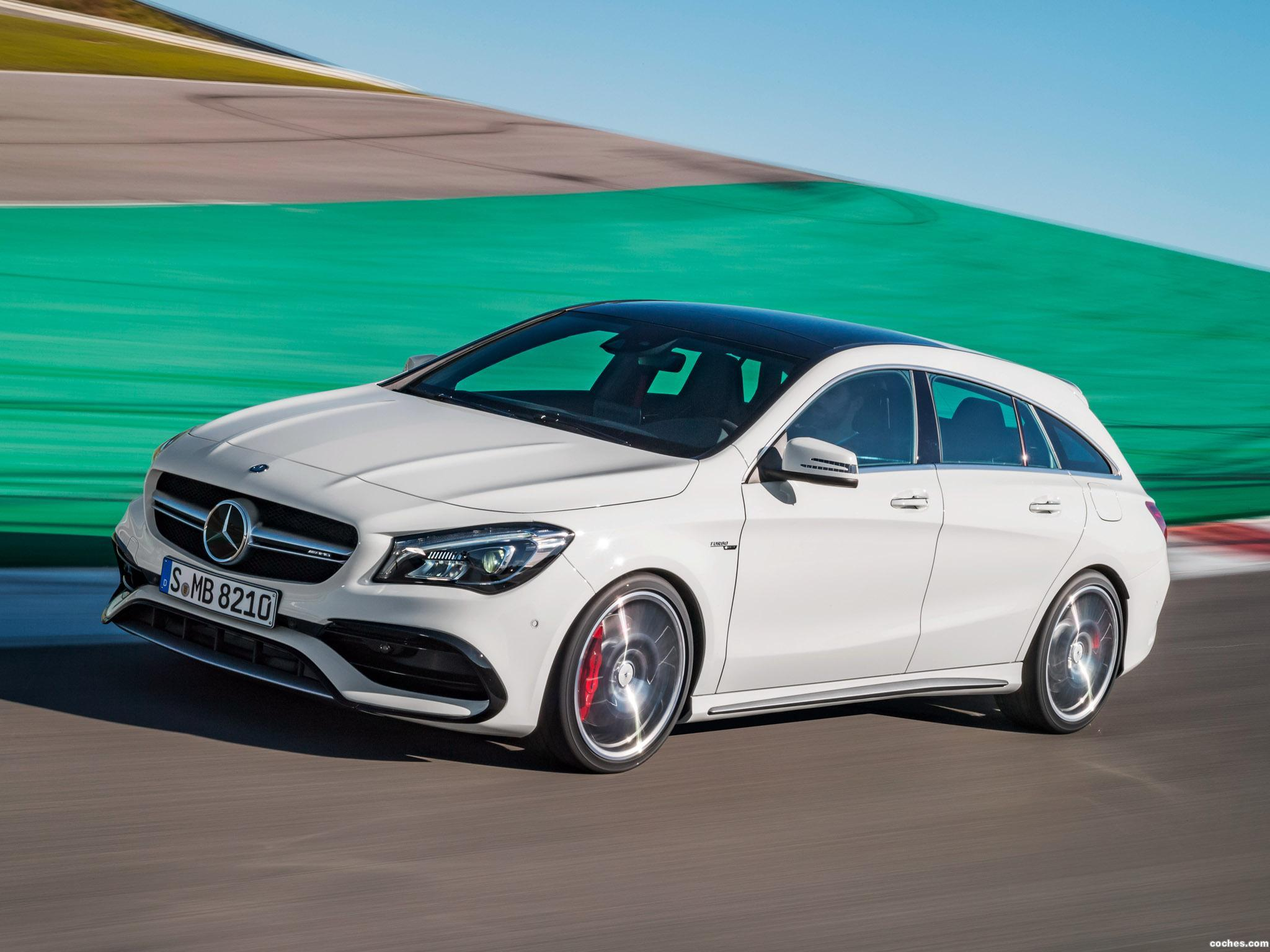 Foto 4 de Mercedes AMG CLA 45 4MATIC Shooting Brake X117 2016