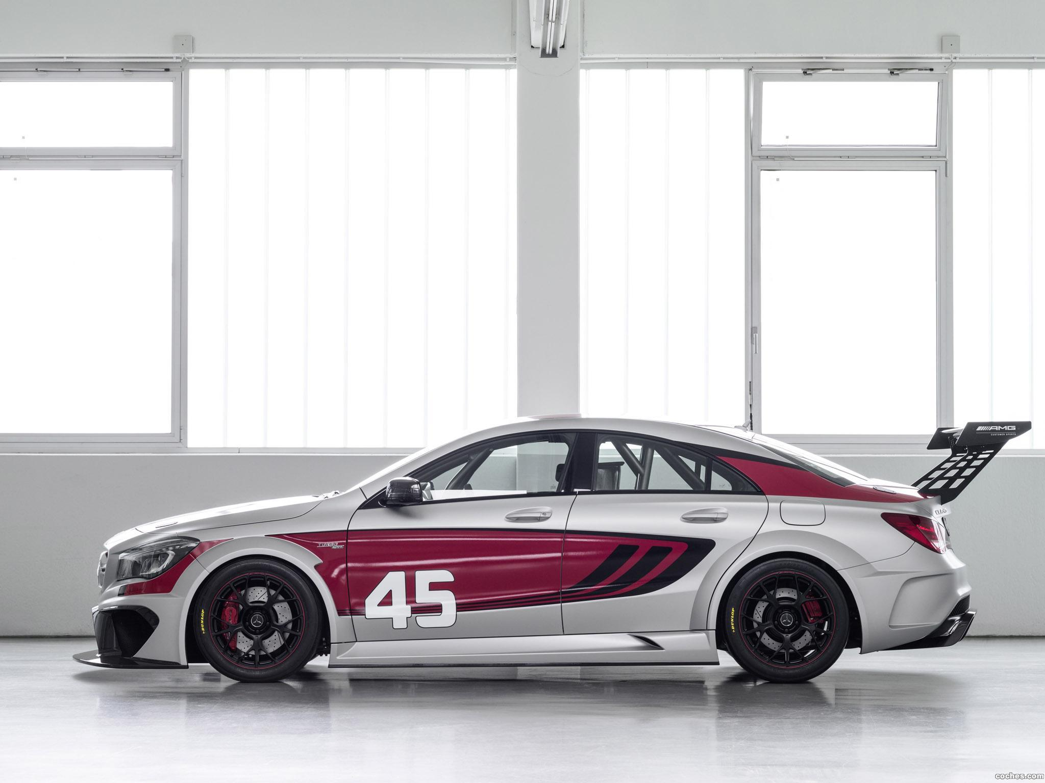 Foto 12 de Mercedes Clase CLA 45 AMG Racing Series 2013