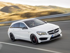 Ver foto 13 de Mercedes CLA 45 AMG Shooting Brake X117 2015