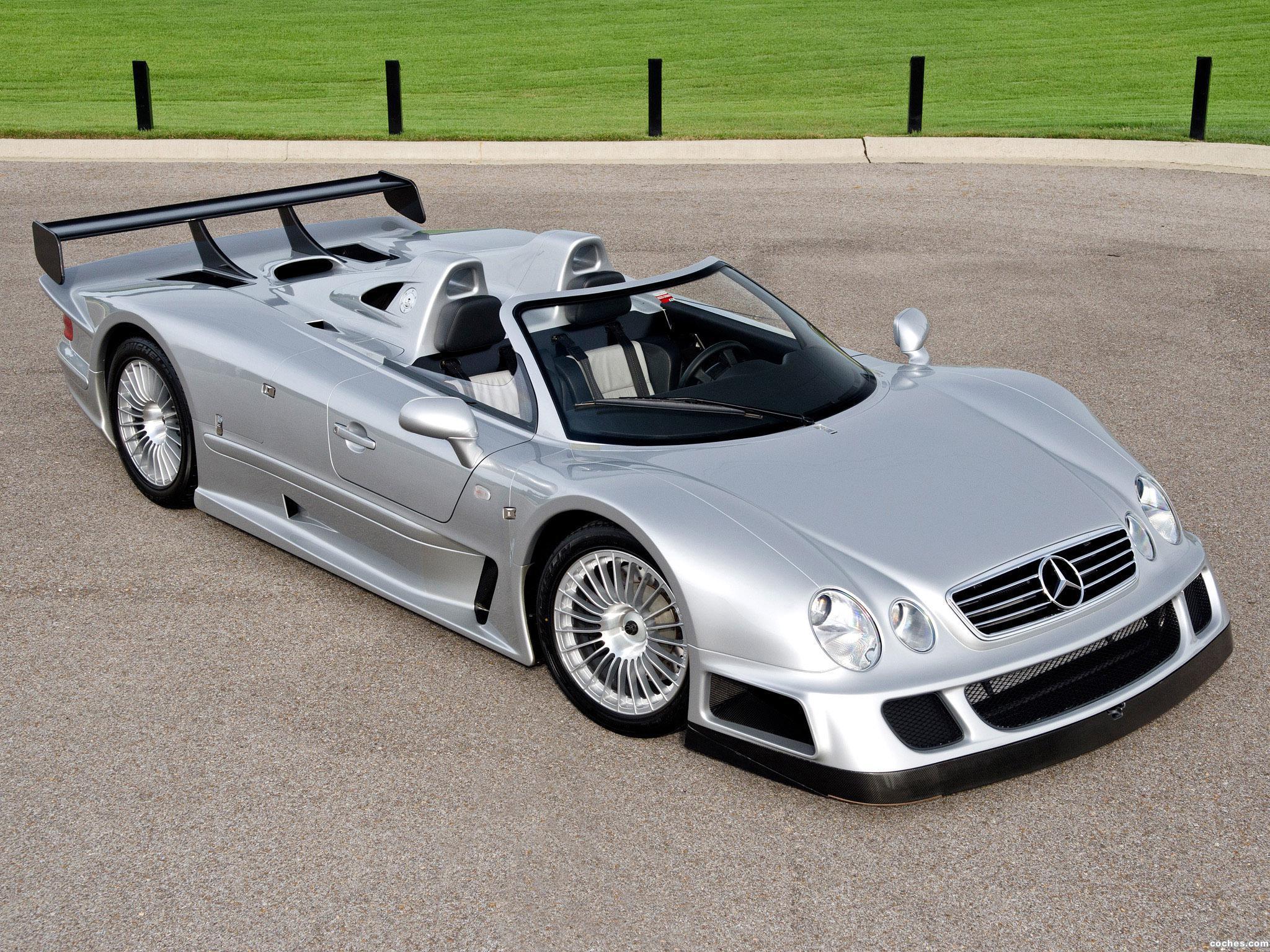 Foto 0 de Mercedes Clase CLK AMG GTR Roadster 2002