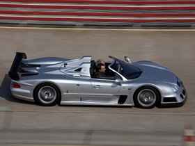 Ver foto 2 de Mercedes Clase CLK AMG GTR Roadster 2002