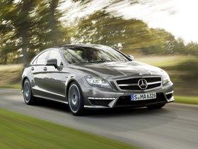 Fotos de Mercedes CLS 63 amg 2010