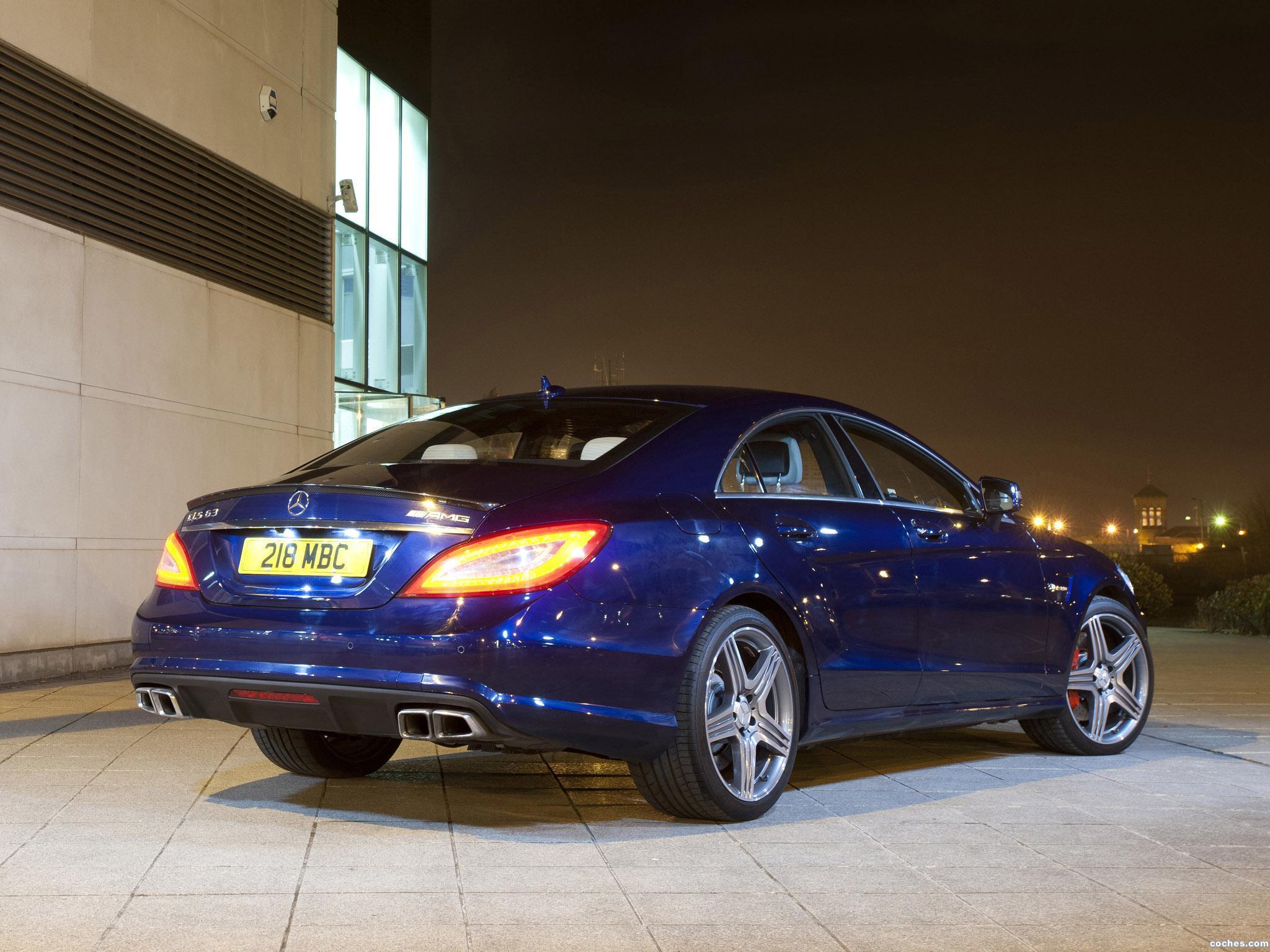Foto 4 de Mercedes Clase CLS 63 AMG C218 UK 2011