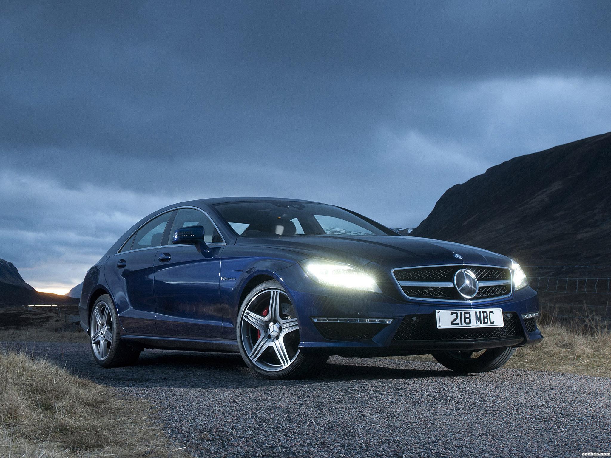 Foto 0 de Mercedes Clase CLS 63 AMG C218 UK 2011