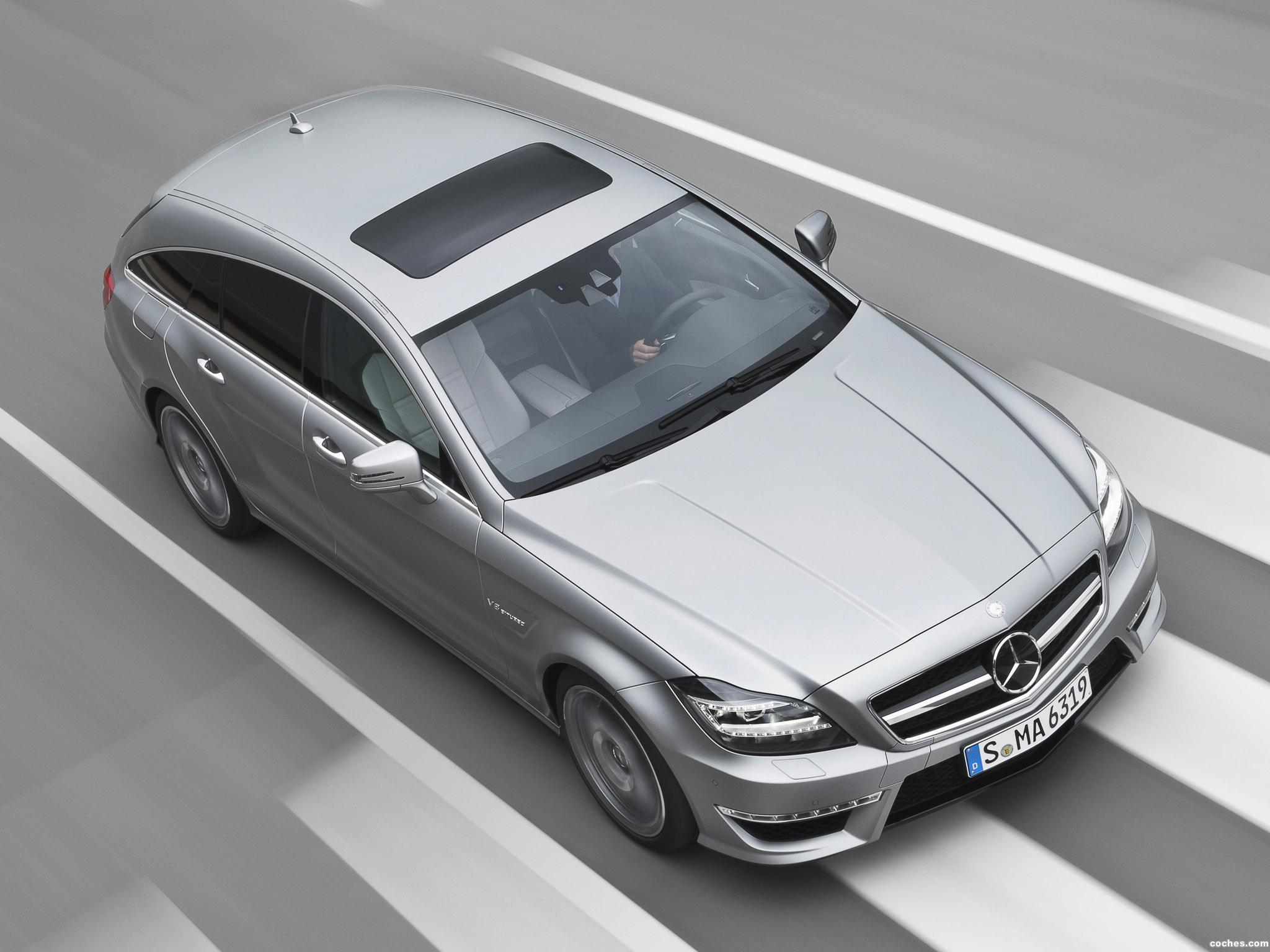 Foto 0 de Mercedes Clase CLS Shooting Brake AMG 63 2012