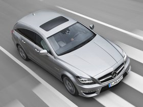 Fotos de Mercedes Clase CLS Shooting Brake AMG 63 2012