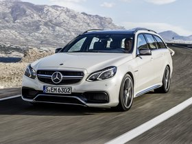 Fotos de Mercedes Clase E Estate 63 AMG S212 2013