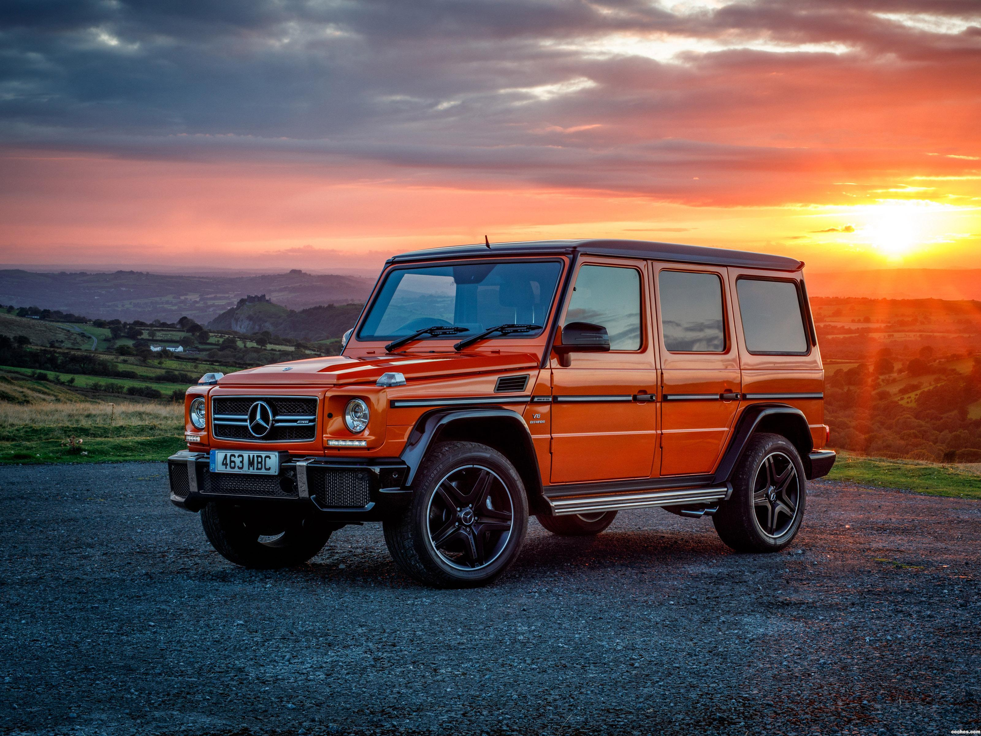 Foto 0 de Mercedes AMG G63 Colour Edition W463 UK 2016