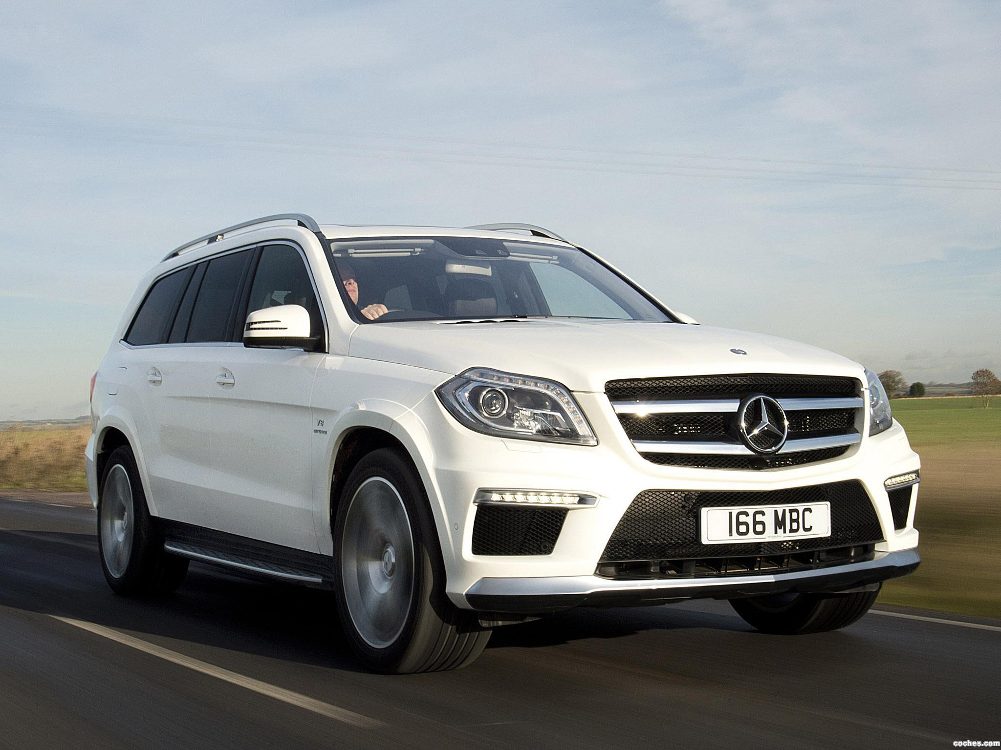 Foto 0 de Mercedes GL 63 AMG X166 UK 2013