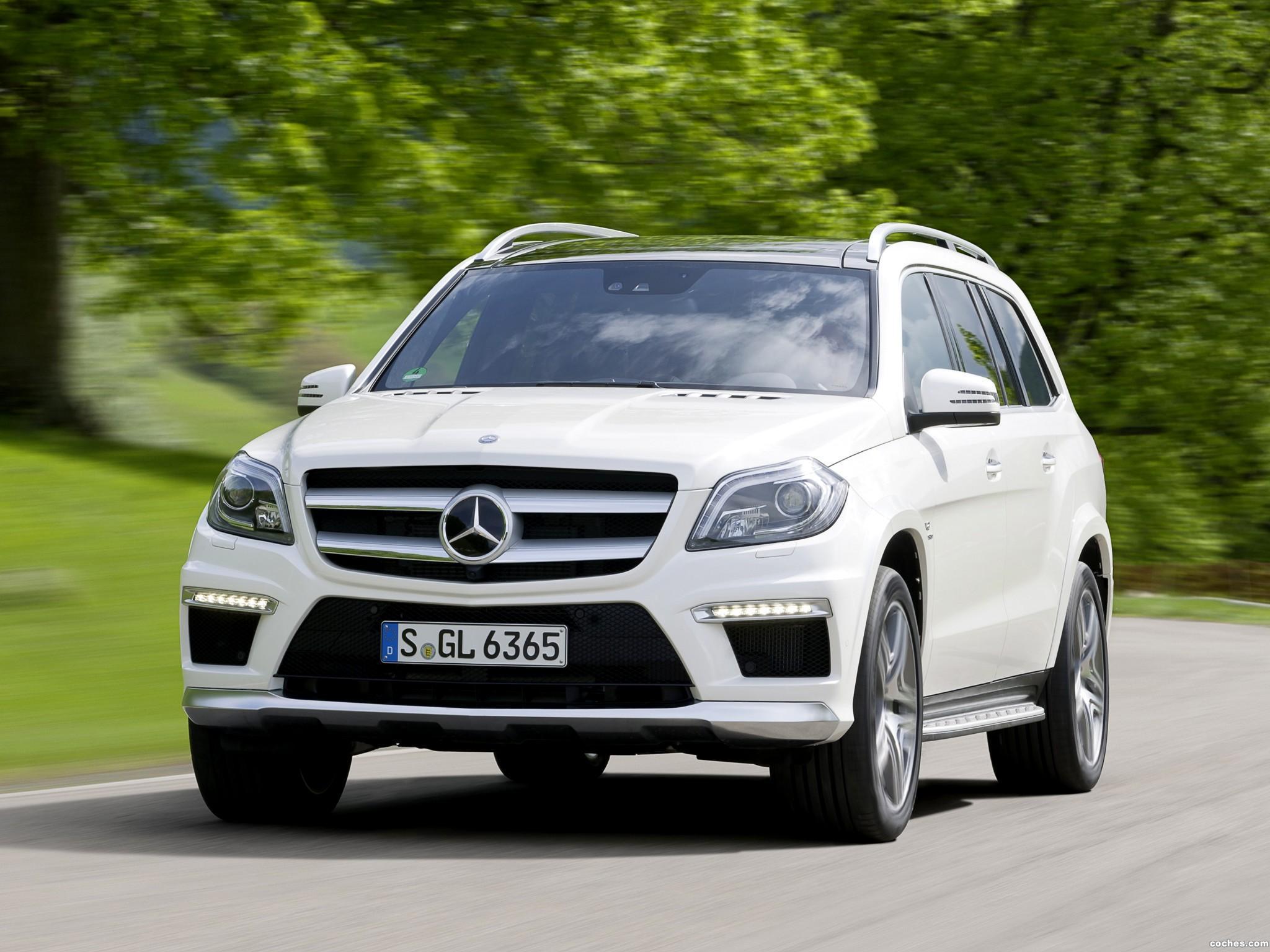 Foto 0 de Mercedes Clase GL AMG 63 X166 2012