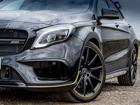 Ver foto 22 de Mercedes AMG GLA 45 4MATIC Yellow Night Edition X156 UK 2017