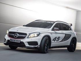 Ver foto 6 de Mercedes Clase GLA 45 Concept 2013