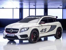 Ver foto 3 de Mercedes Clase GLA 45 Concept 2013