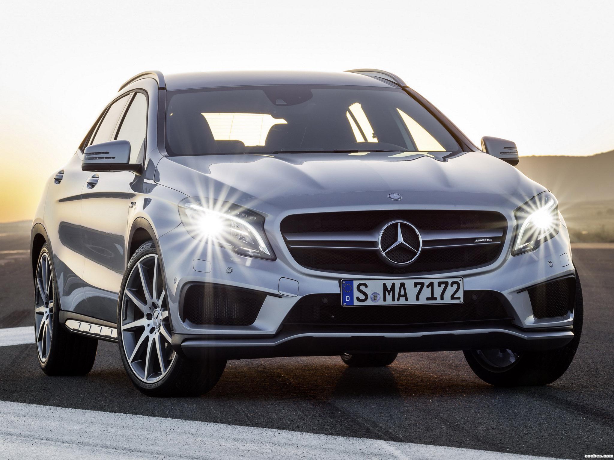 Foto 0 de Mercedes Clase GLA 45 AMG X156 2014