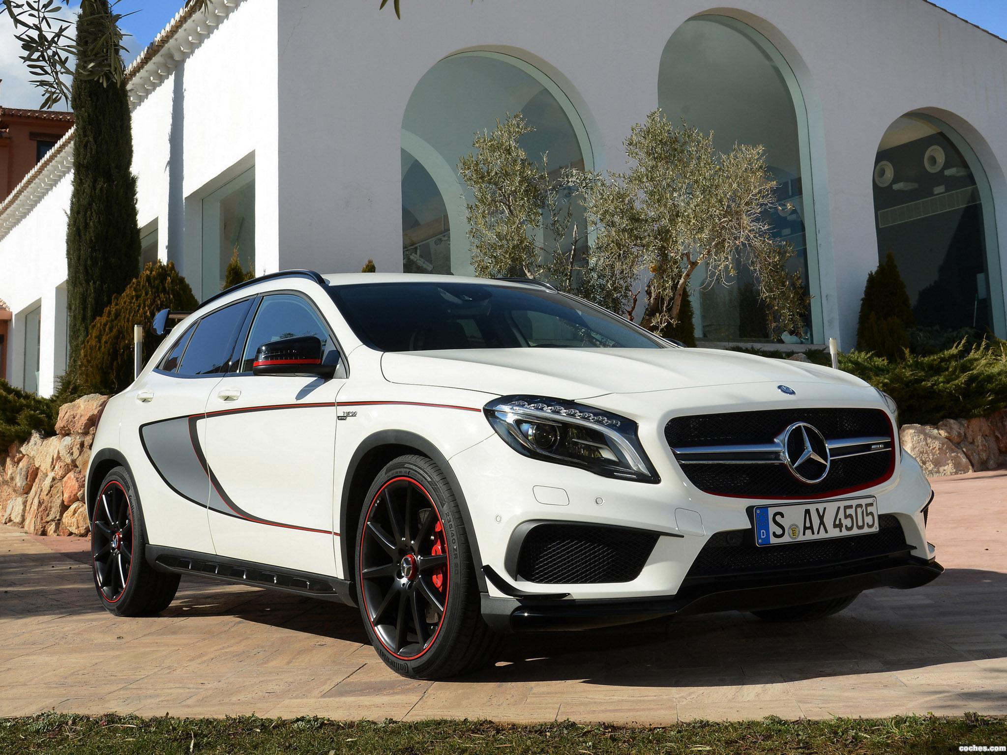 Foto 0 de Mercedes GLA 45 AMG Edition 1 X156 2014