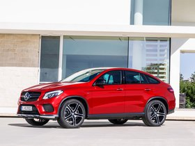 Fotos de Mercedes Clase GLE AMG 450 4MATIC Coupe C292 2015