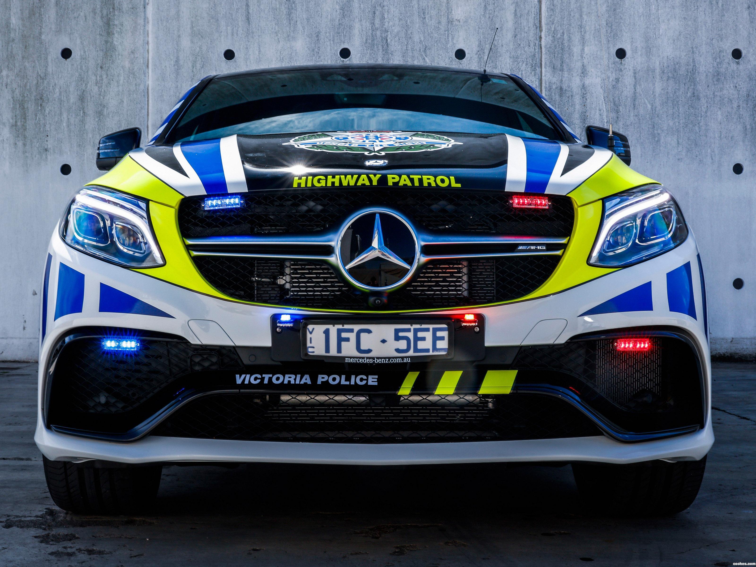 Foto 0 de Mercedes AMG GLE 63 Police Car Australia 2016