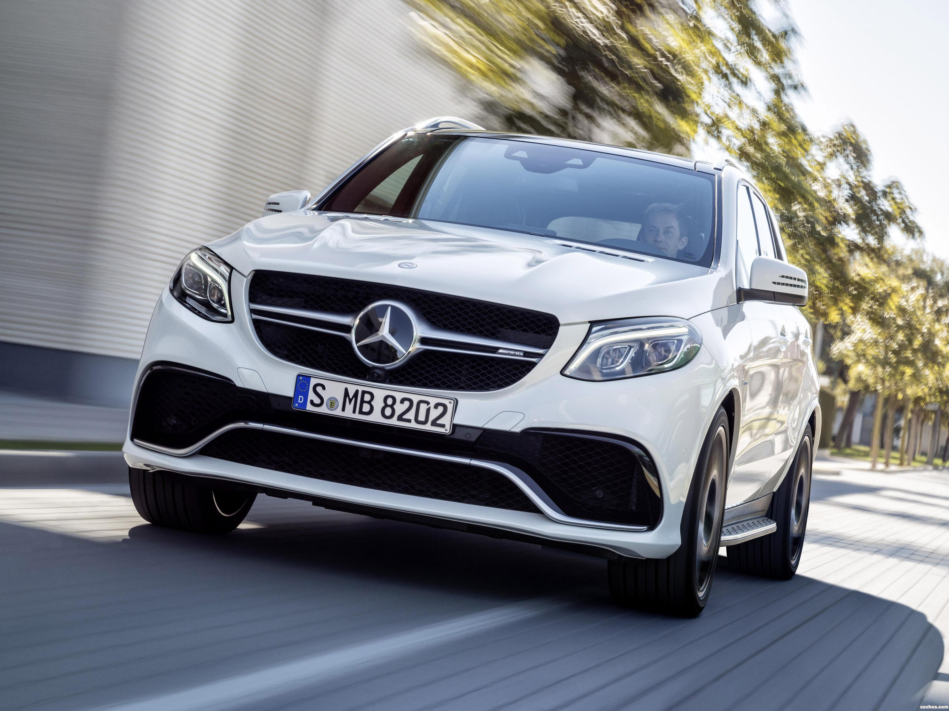 Foto 0 de Mercedes AMG GLE 63 S 4MATIC W166 2015