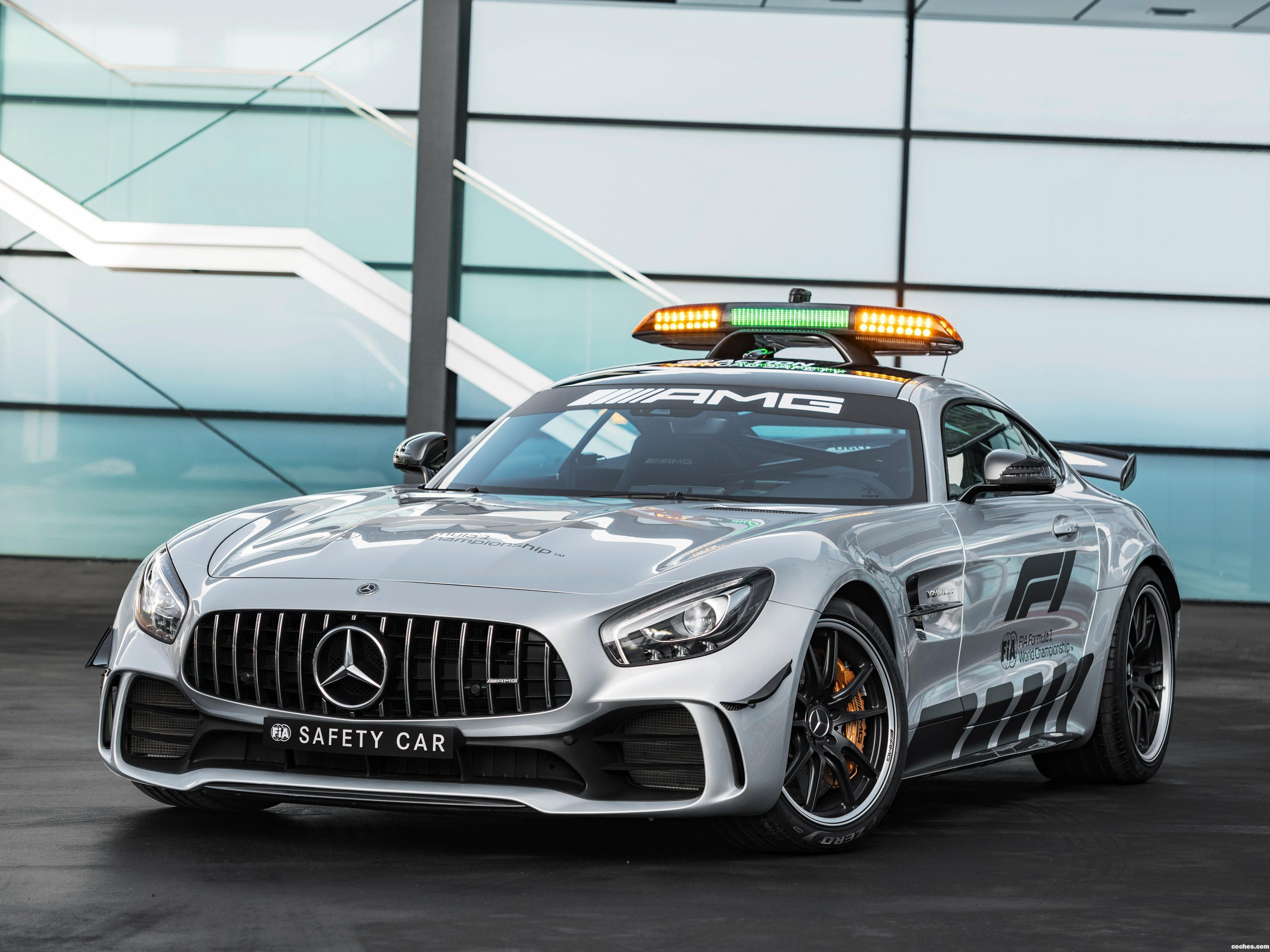 Foto 0 de Mercedes-AMG GT-R F1 Safety Car 2018