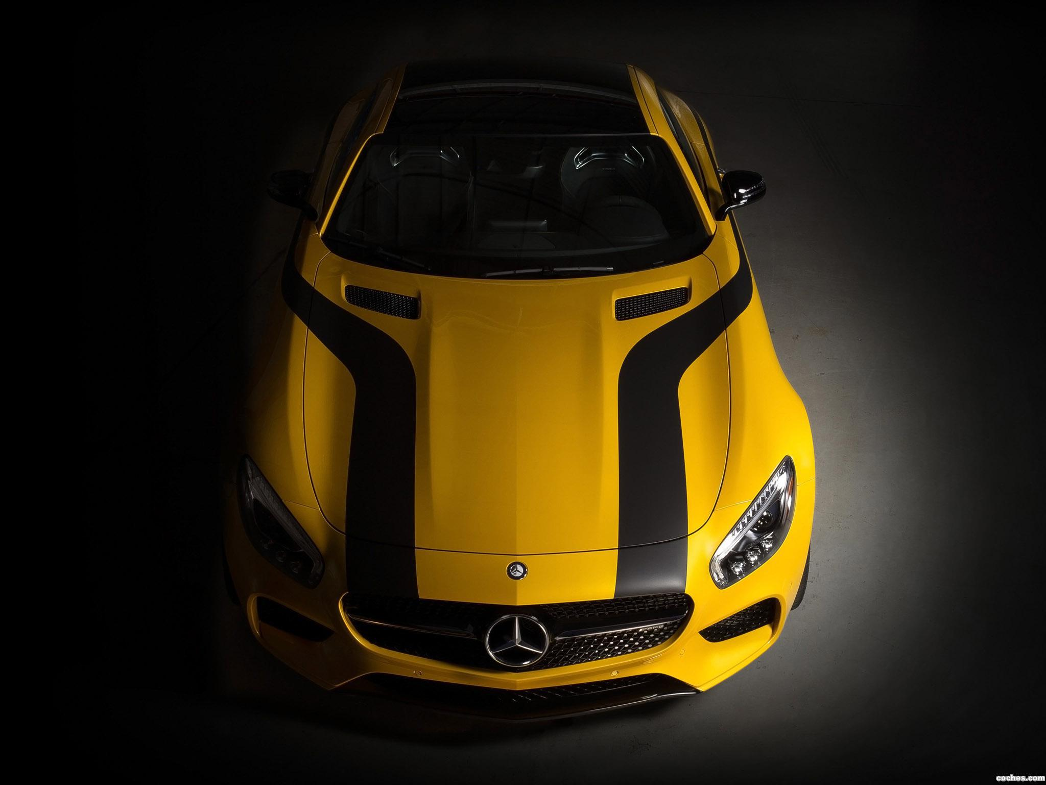 Foto 0 de Mercedes AMG GT S Concept Cigarette Racing 2015