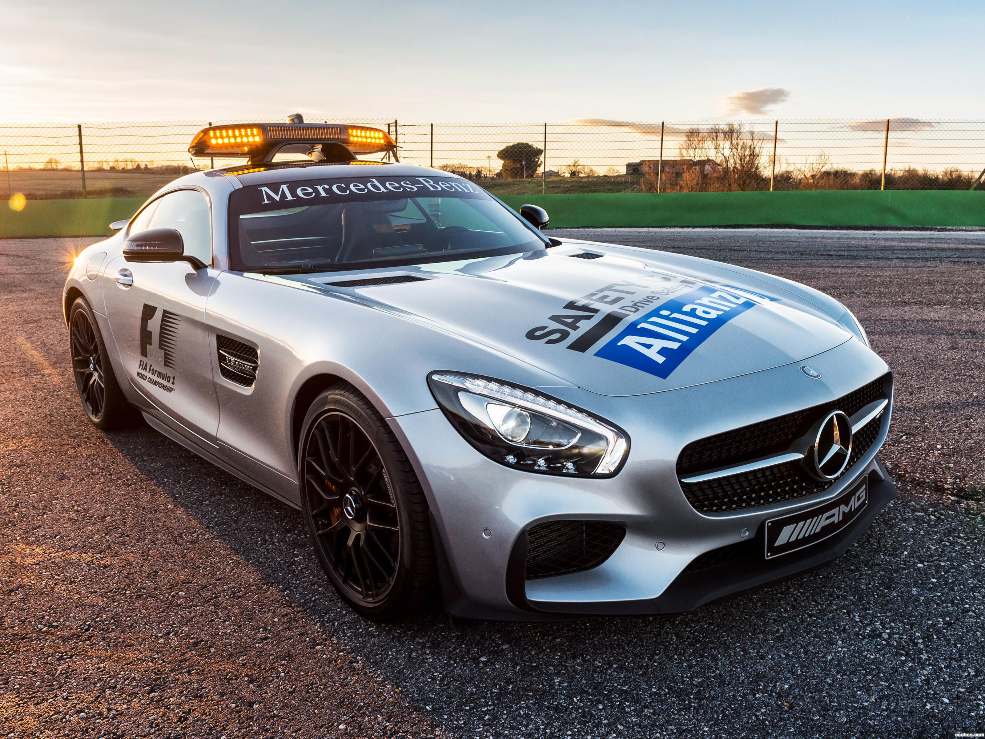 Foto 0 de Mercedes AMG GT S F1 Safety Car 2015