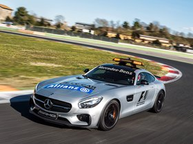 Ver foto 2 de Mercedes AMG GT S F1 Safety Car 2015