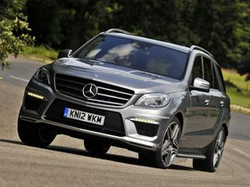 Ver foto 1 de Mercedes Clase M ML63 AMG W166 UK 2012
