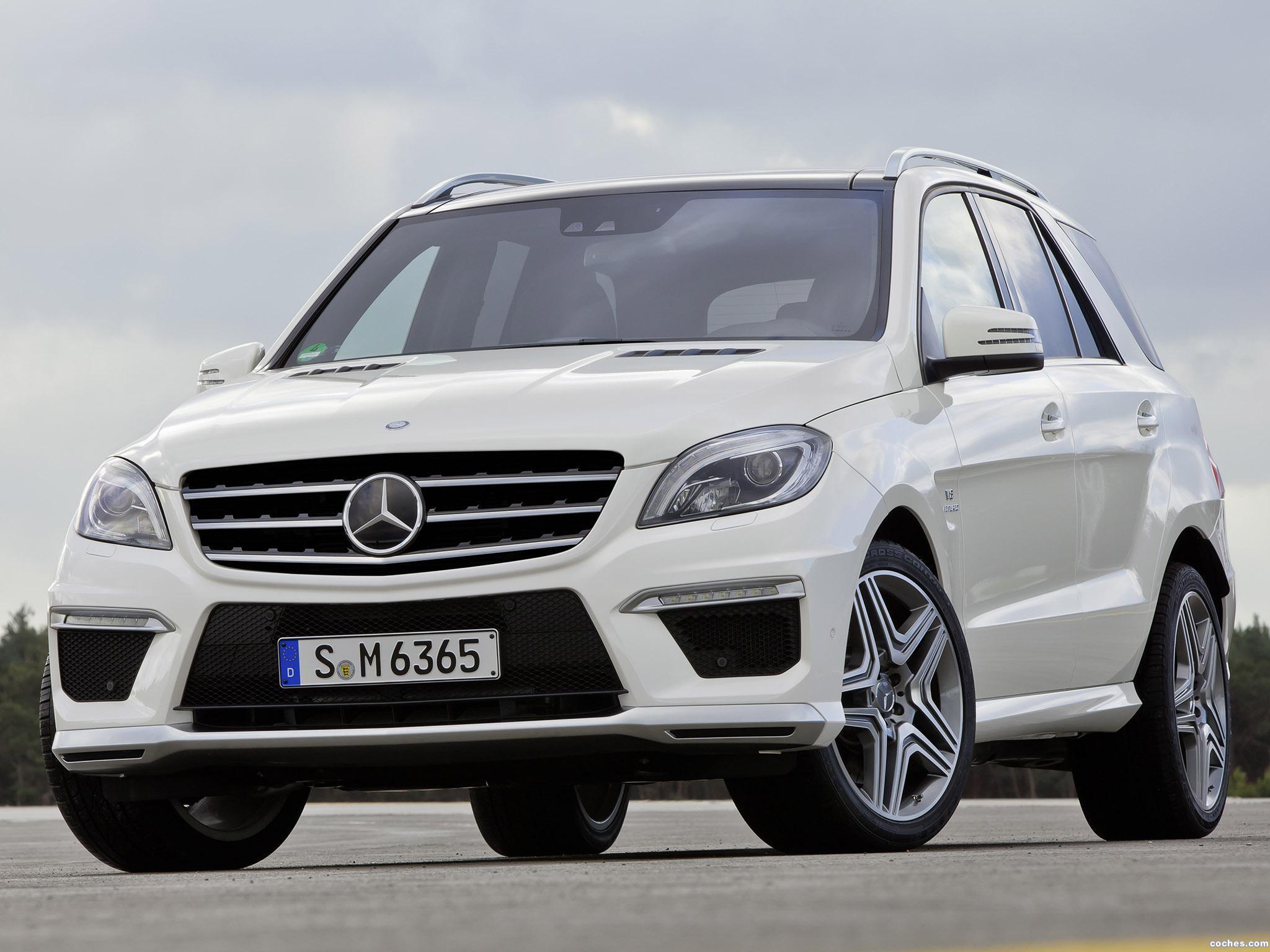 Foto 0 de Mercedes Clase M ML63 AMG W166 2012
