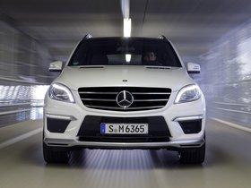 Ver foto 5 de Mercedes Clase M ML63 AMG W166 2012