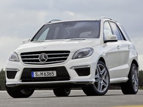 Fotos de Mercedes Clase M ML63 AMG W166 2012
