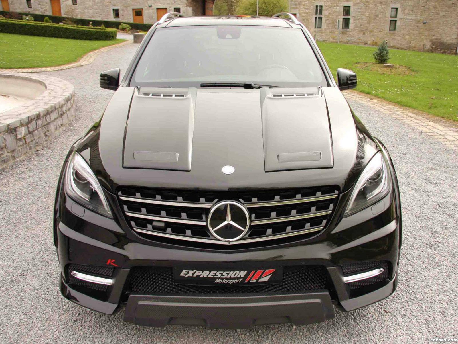 Foto 0 de Mercedes Clase M ML63 Wide Body R by Expression Motorsport 2014