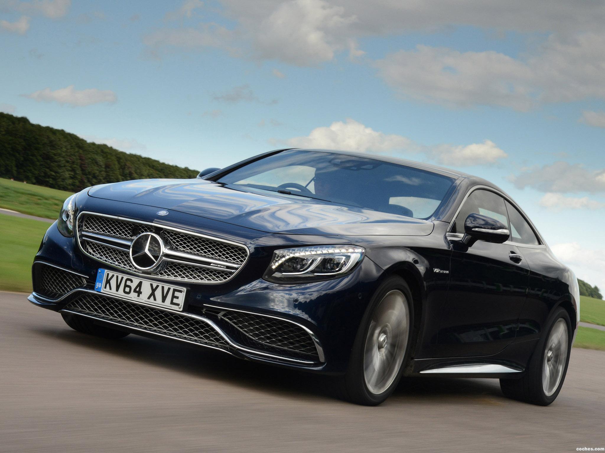 Foto 0 de Mercedes AMG S 65 Coupe C217 UK 2015