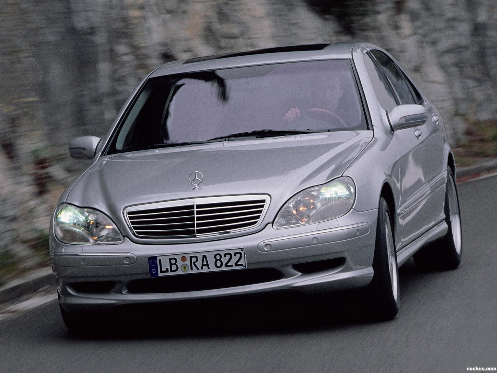 Foto 0 de Mercedes Clase S S55 AMG W220 1999