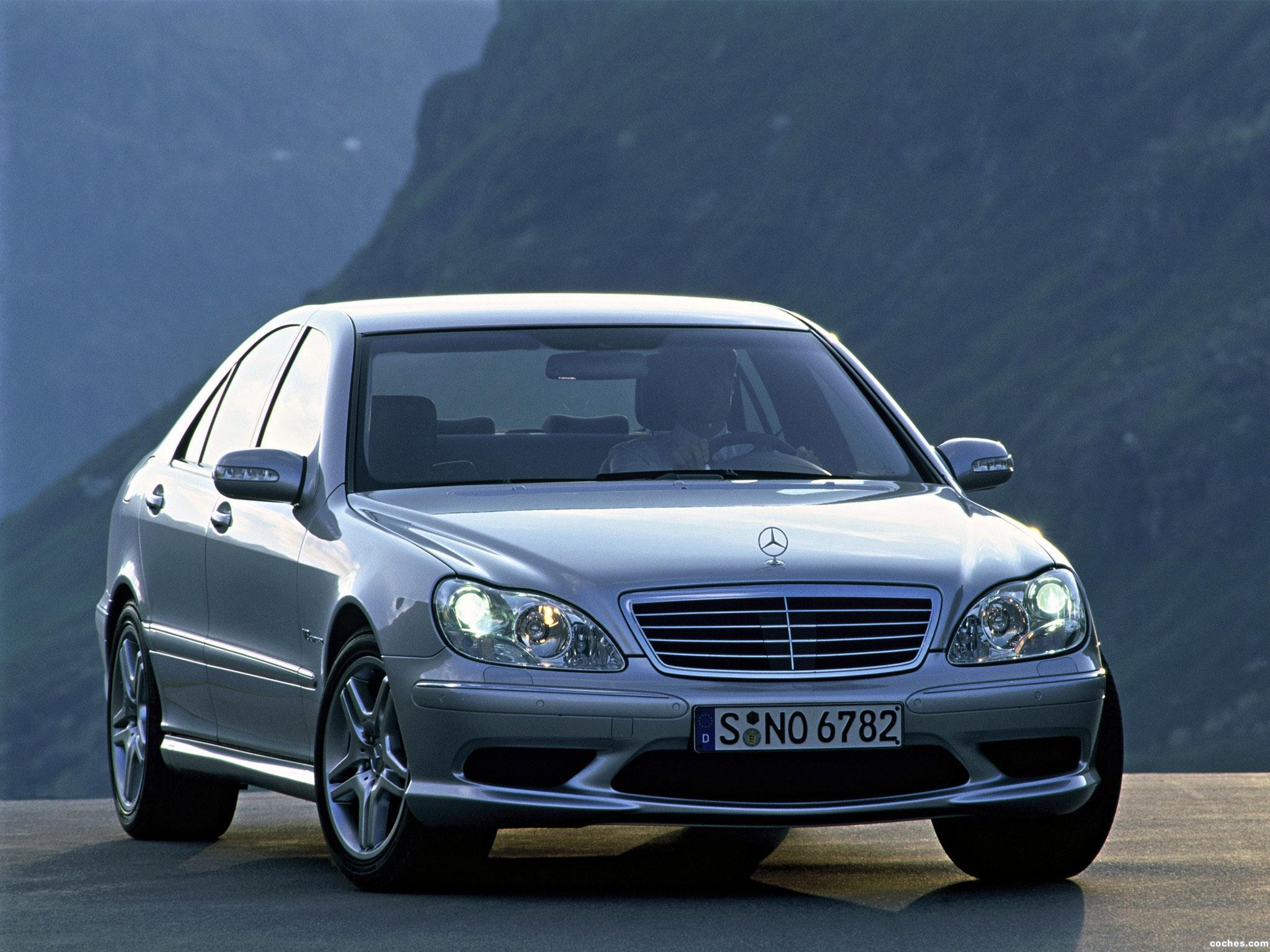 Foto 0 de Mercedes S-Klasse S55 AMG W220 2002