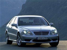 Fotos de Mercedes S-Klasse S55 AMG W220 2002